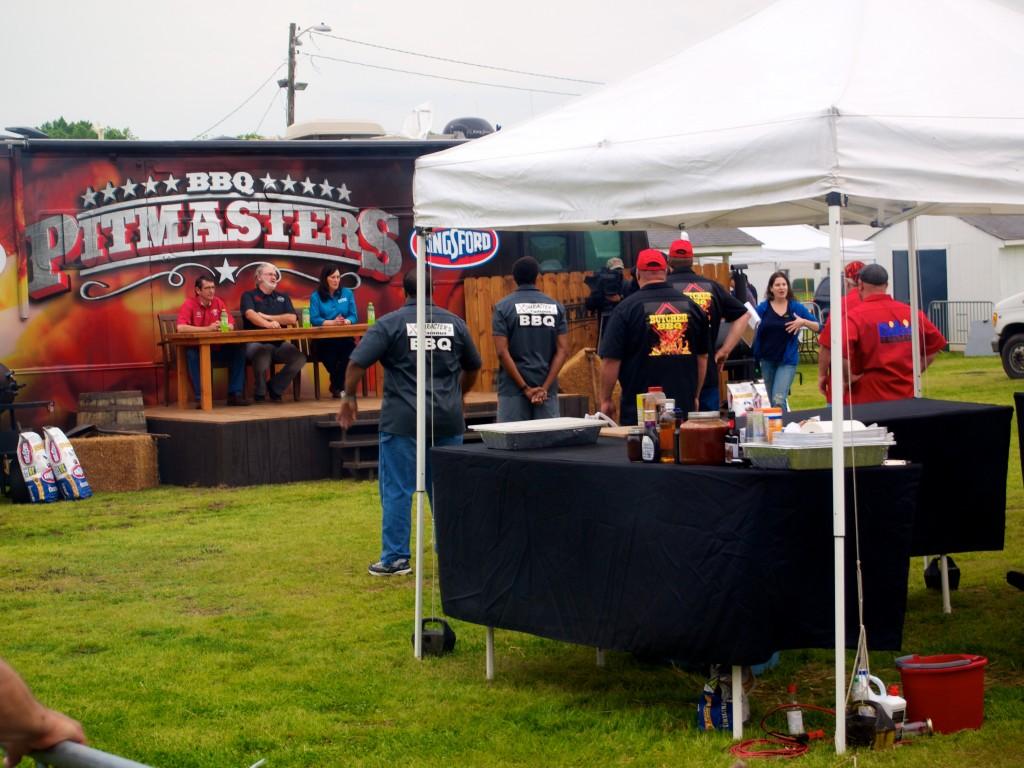 Always fun to see the filming of Pitmasters.  We won't spoil who won!