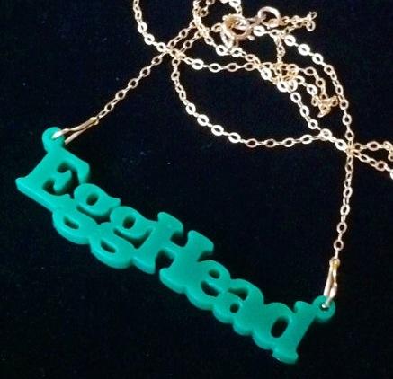 Egghead Necklace